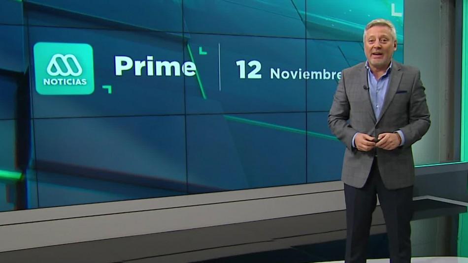Meganoticias Prime - Jueves 12 de noviembre 2020