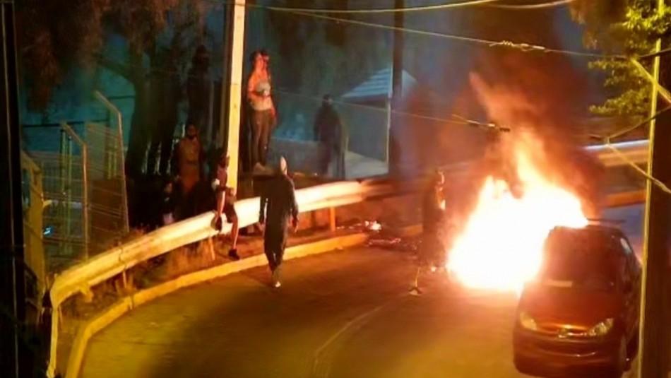Turba destruye centro comunitario de seguridad en Lo Barnechea