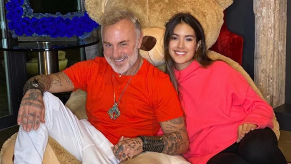 Sharon Fonseca revela un gusto particular de su hija con Gianluca Vacchi: se duerme con música