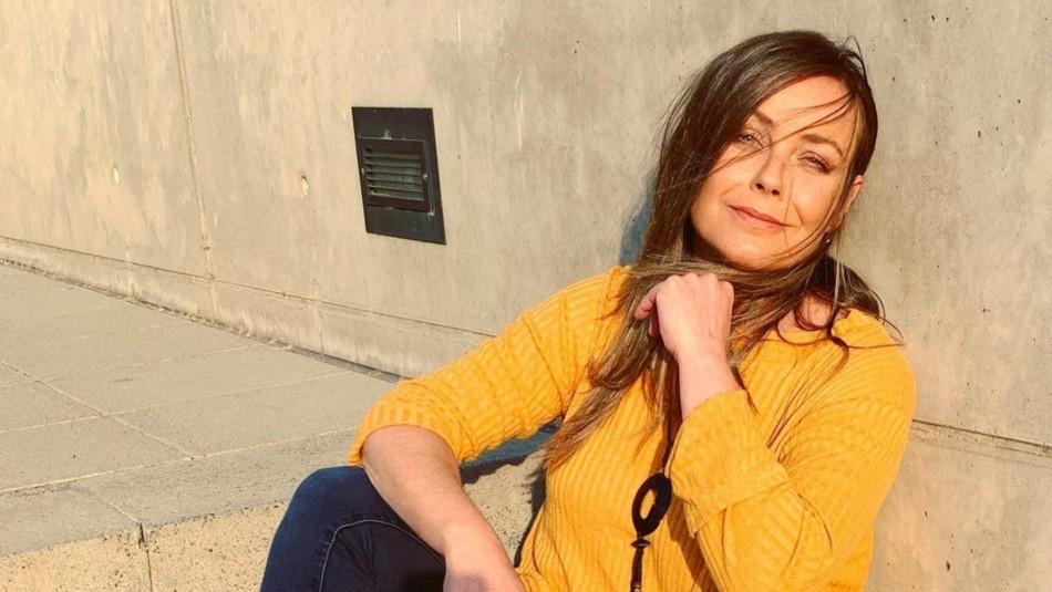 Pollo Valdivia publica foto de Claudia Conserva en sus inicios en la TV con sentida dedicatoria