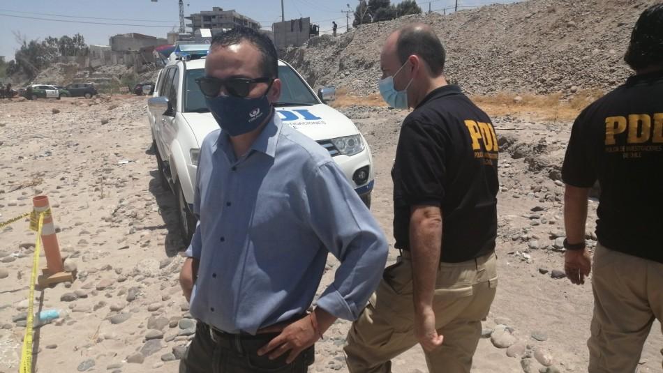 Encuentran cuerpo calcinado en lecho de río San José en Arica