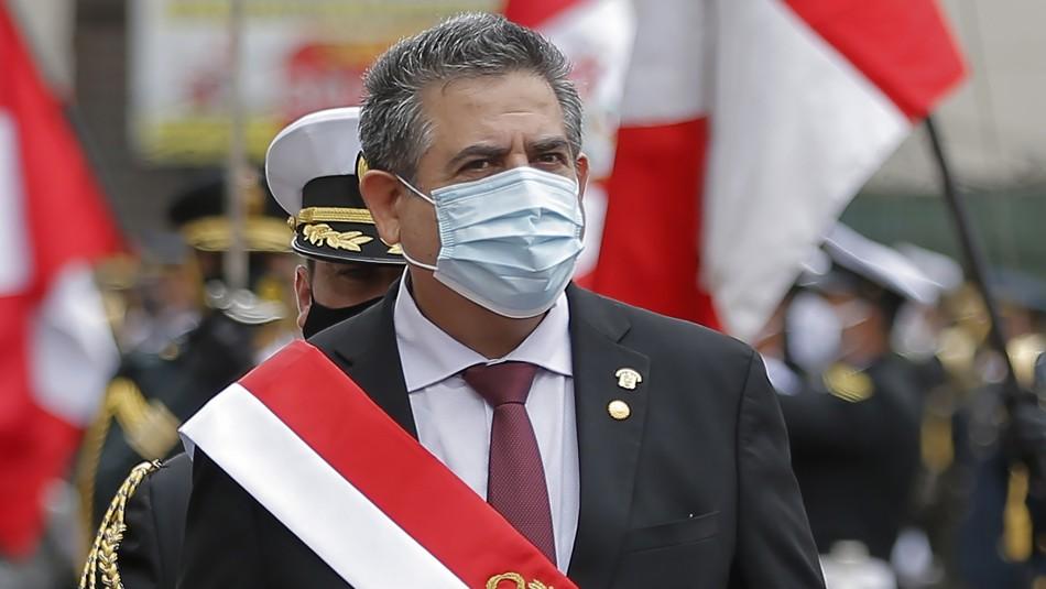 Presidente del Congreso de Perú pide la