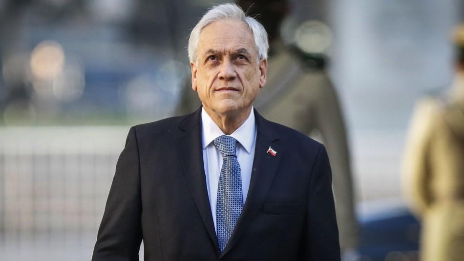 Cadem: Aprobación del Presidente Piñera cae dos puntos y llega al 16%