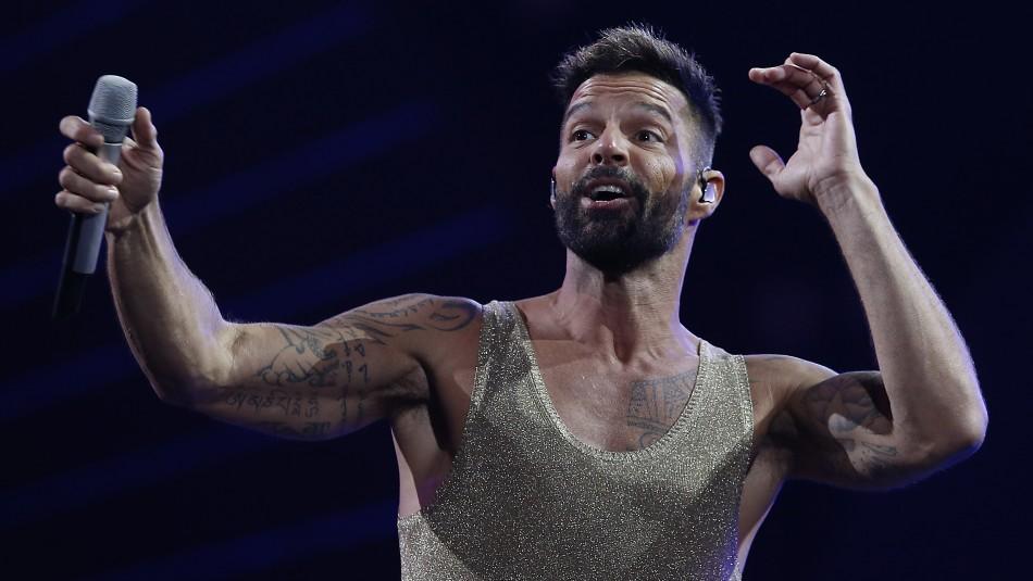 Con test PCR incluido: Ricky Martin se prepara para participar en los Grammy Latinos