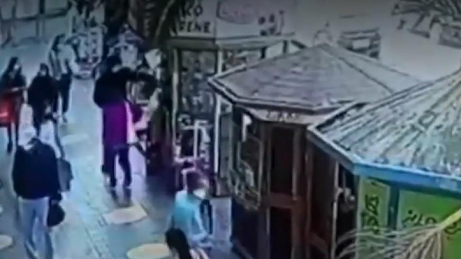 Grave ataque a kioskero en Melipilla.