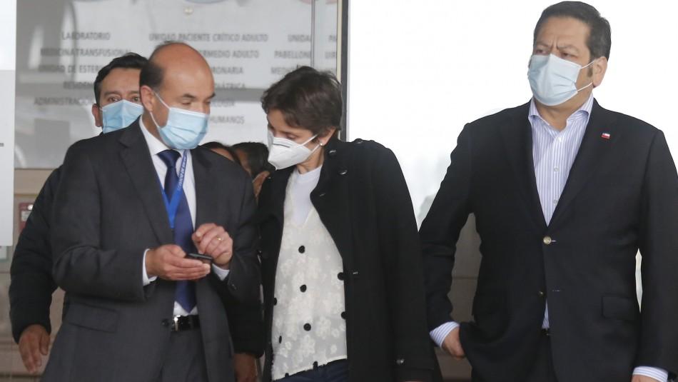 Directora del Sename critica procedimiento de carabineros tras visitar a niños baleados