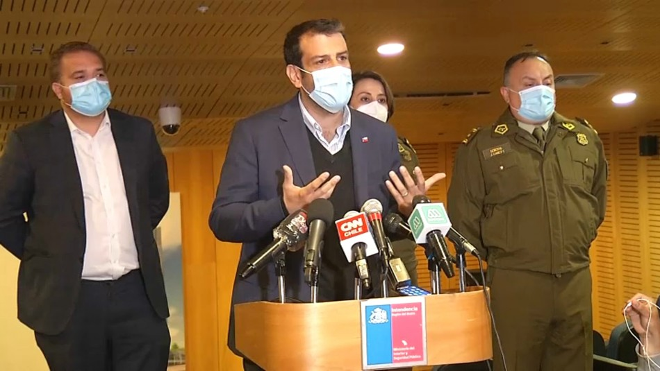 Ministro Delgado visita a menores heridos: