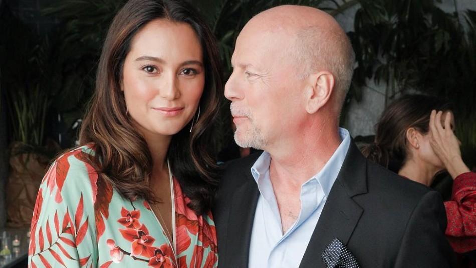 La esposa de Bruce Willis y su amistad con Demi Moore: fiestas, viajes y mensajes de cumpleaños