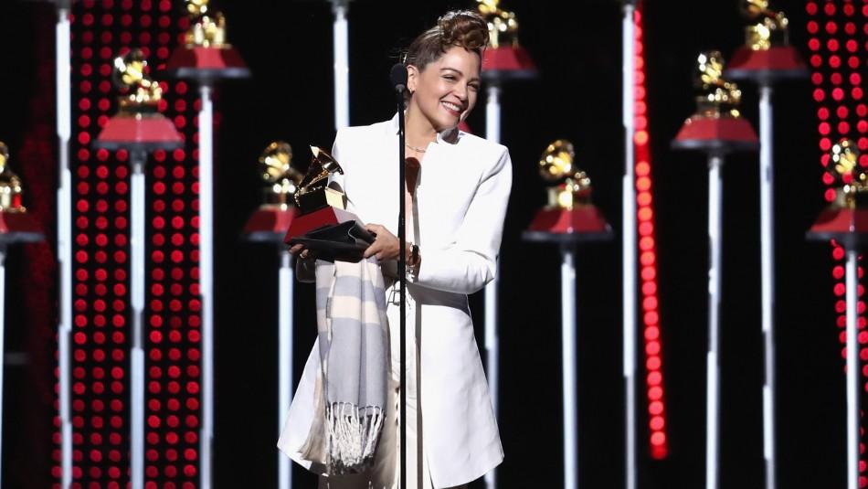 Grammy Latinos: Natalia Lafourcade gana el Álbum del Año y artistas urbanos no logran triunfar