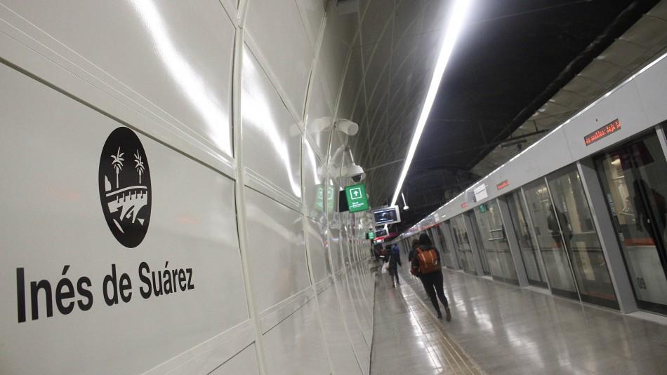 Metro informa del cierre de tres estaciones hasta el domingo 22 de noviembre