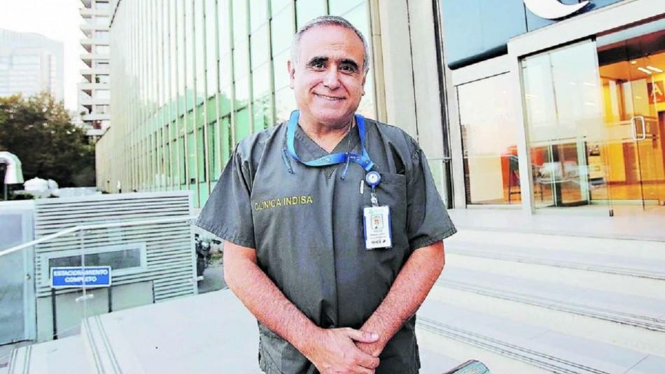 Doctor Ugarte compartió tierna fotografía junto a su pareja y le dedicó emotivo mensaje