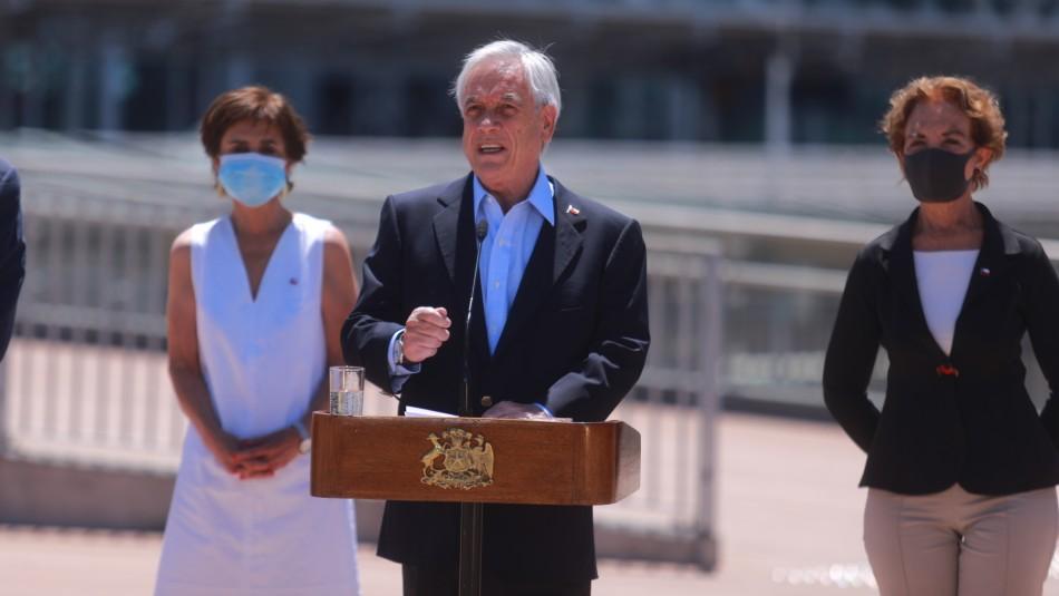 Piñera y retiro de 10%: