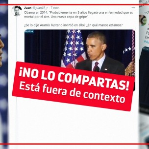 Fact Checking: ¿Obama predijo la pandemia del coronavirus en el 2014?