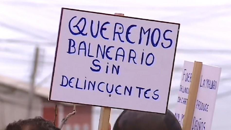 Cartagena violento: Vecinos salen a protestar por delitos en el balneario
