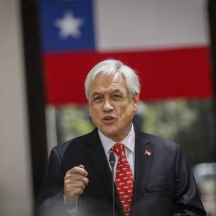 Piñera defiende envío del proyecto del 10% al TC: