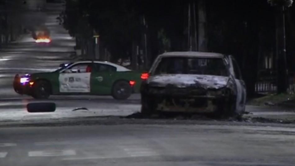 Joven de 15 años muere atropellado en Huechuraba: Conductor fugado es detenido y queman su auto
