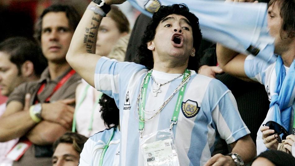 Conmoción mundial: Muere Diego Armando Maradona a los 60 años