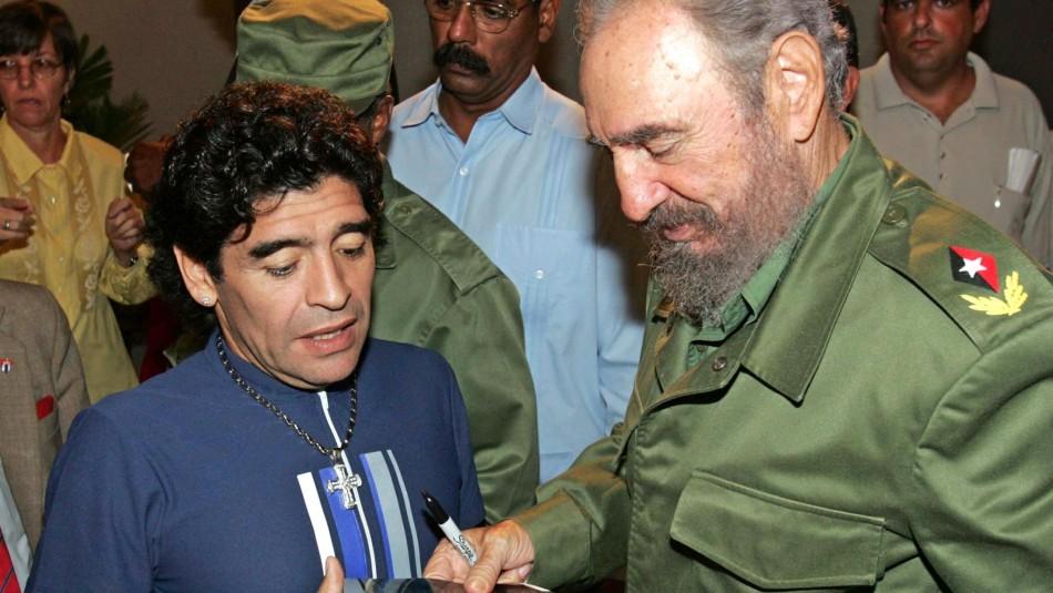 Diego Maradona fallece el mismo día que Fidel Castro, su