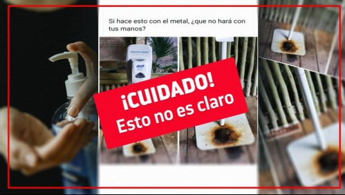 Fact Checking: ¿El alcohol gel es dañino para la piel y corrosivo para el metal?