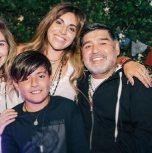 La fortuna de Maradona y la amenaza a sus hijas: