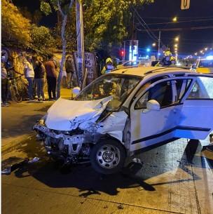 Conductor sufre la amputación de su brazo tras violento accidente en Maipú