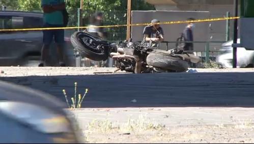 Testigo contó de accidente que le costó la vida a un motociclista en la autopista Vespucio Norte