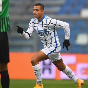 Alexis Sánchez marcó un gol en victoria que deja a Inter como sublíder de la Serie A
