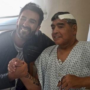 Investigan fuerte pelea entre Diego Maradona y su médico Leopoldo Luque