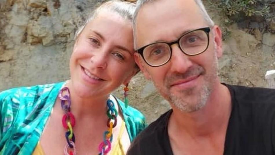 Paty López y su marido esloveno con el que se casó tres veces: