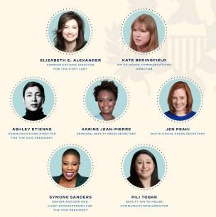 Joe Biden hace historia: equipo de comunicaciones estará compuesto solo por mujeres