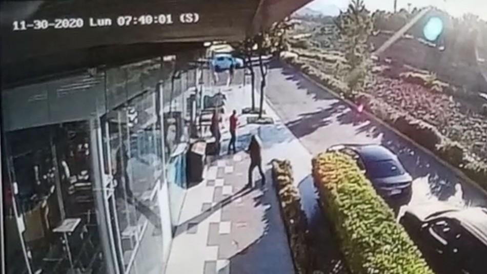 Video registra momento en que escolta de Briones repele presunto robo que termina con un muerto