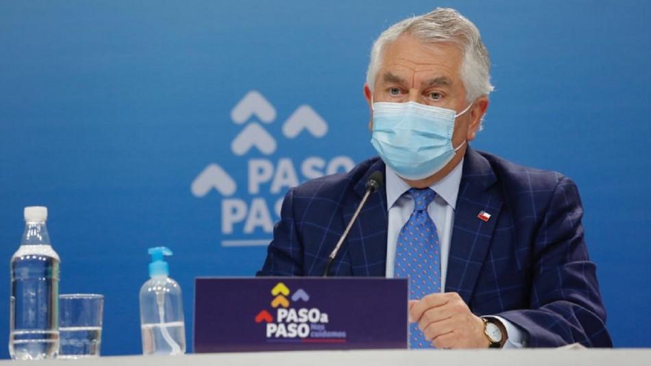 Minsal entregó nuevo informe del coronavirus en Chile.
