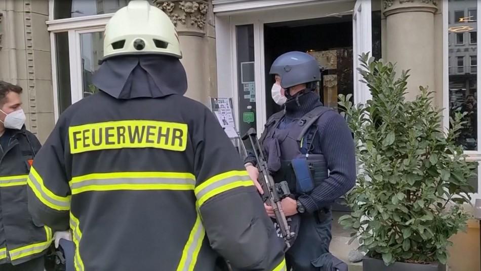 Dos personas mueren en atropello masivo en ciudad alemana de Tréveris