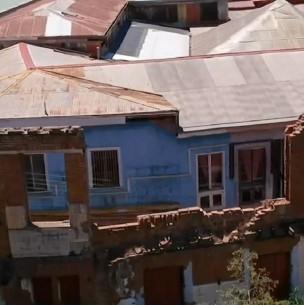 Derrumbes en Valparaíso: Miles de viviendas al borde del colapso