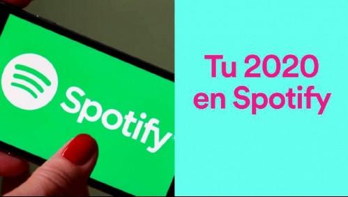 Lo que más escuchaste este 2020: Revisa cómo ver tu resumen de Spotify