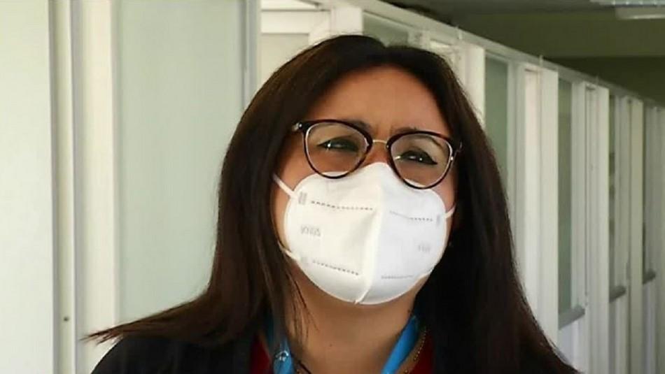 Primera chilena en recibir vacuna contra el coronavirus en el país: