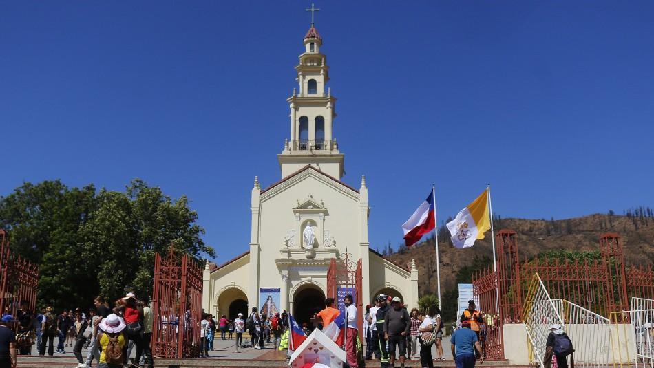 Peregrinación a Lo Vásquez: Cerrarán ruta 68 ante suspensión del evento religioso