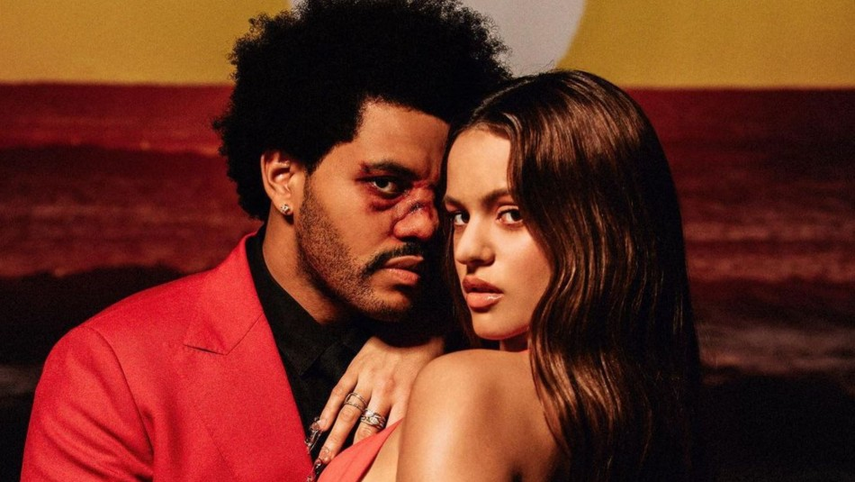 Rosalía y The Weeknd sorprenden con inesperada colaboración de