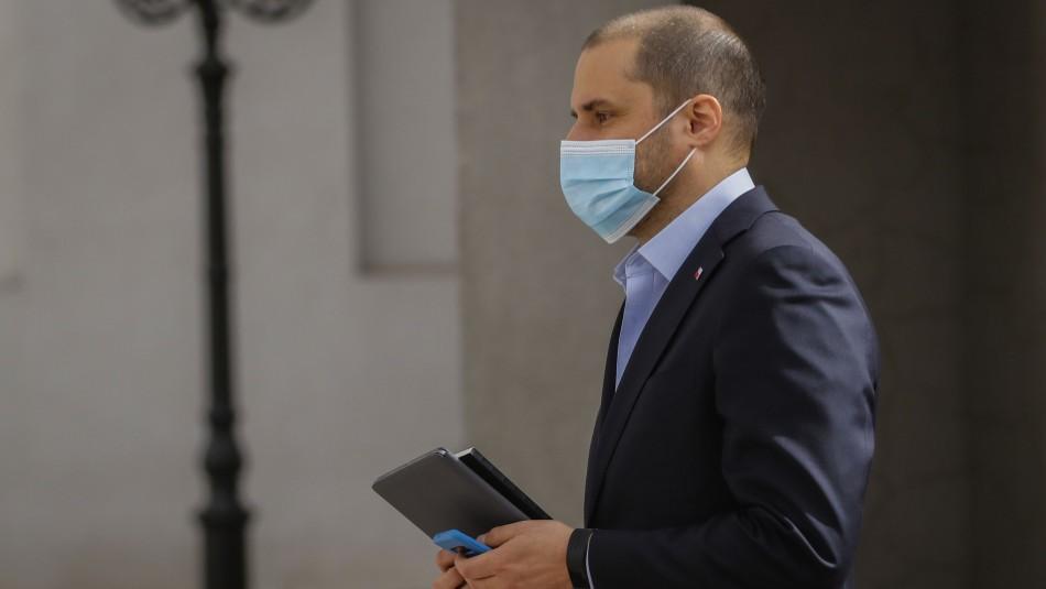 Ministro Jaime Bellolio apuntó al nuevo retiro de fondos.