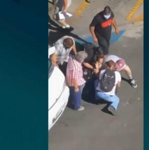 Apuñalan a PDI durante un procedimiento en el centro de Santiago