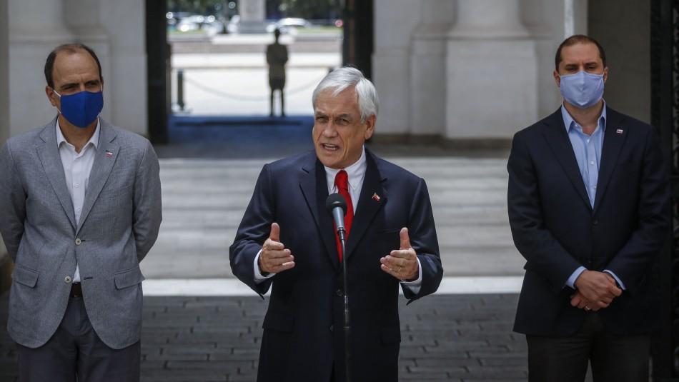 Presidente Piñera promulga ley del segundo retiro de fondos AFP.