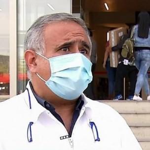 Doctor Ugarte sufre accidente de tránsito: Choca el auto de su novia