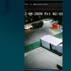 Tanqueta del Ejército detiene fuga de conductor ebrio en Quilicura
