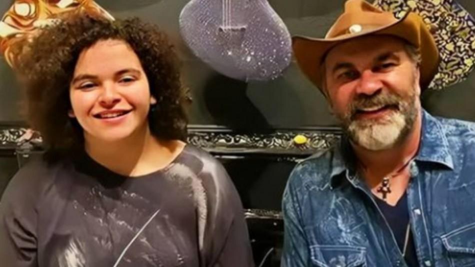 La impresionante voz de la hija de Lucerito cantando junto a su papá Manuel Mijares