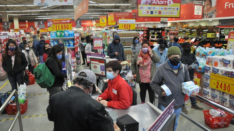 Así funcionarán los supermercados este fin de semana en la Región Metropolitana