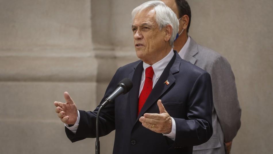 Piñera anuncia que vetará proyecto de indulto a detenidos en estallido si avanza en el Congreso