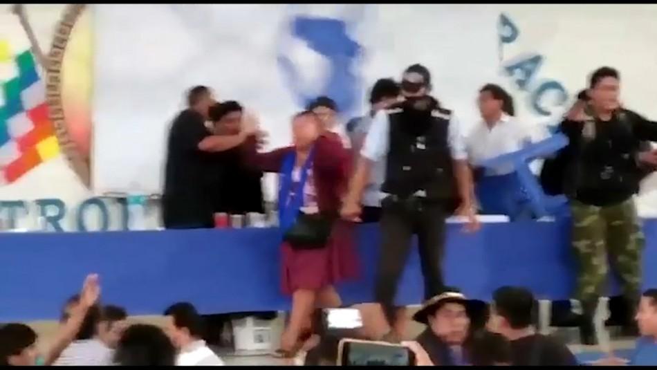 Evo Morales sufre