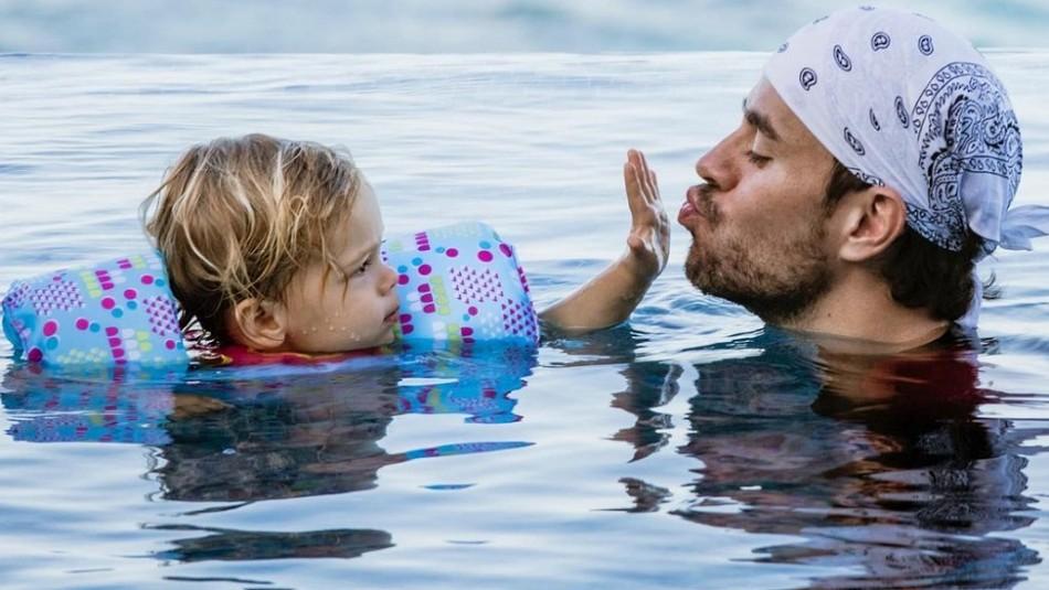 Así de grandes están los hijos mayores de Enrique Iglesias: Nicholas y Lucy tienen 3 años