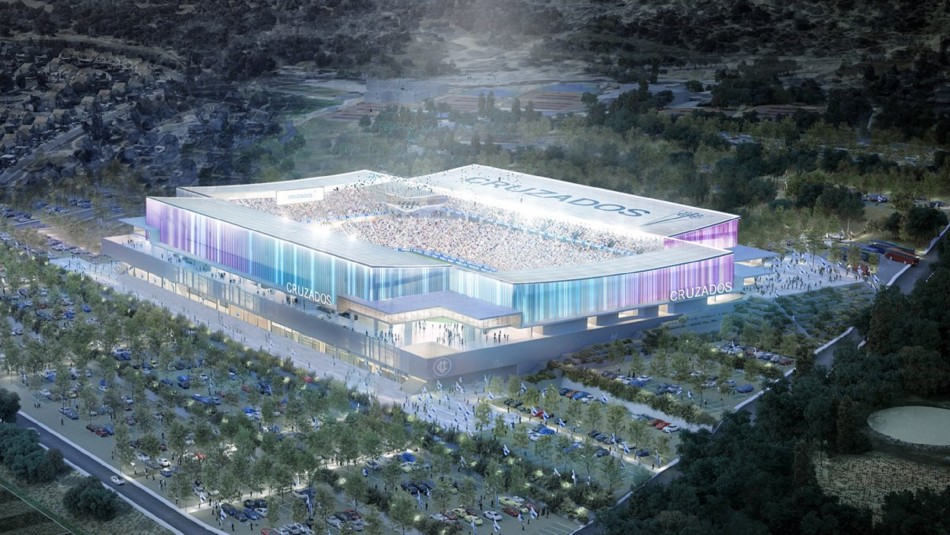 Universidad Católica da a conocer las primeras imágenes de lo que será su nuevo estadio
