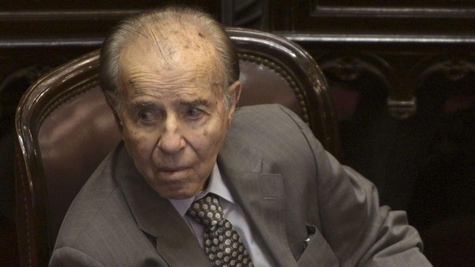 Muere expresidente argentino Carlos Menem a los 90 años